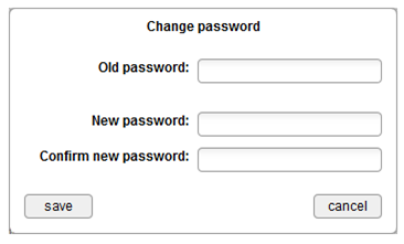 Change Password step 2