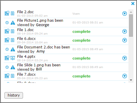 File Sharing Notification Graphic 2