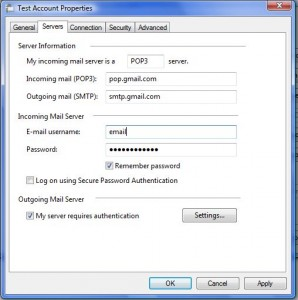 What is my smtp server name for gmail - Dive jump reporting system ...