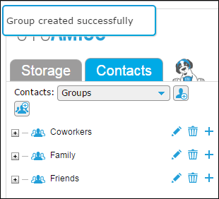 Create New Group in TackApp Graphic