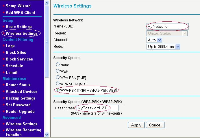 On. WPA/WPA2. a Netgear. router. Configuring.